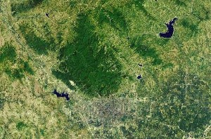 Mount Tai - Google Satellite Photo