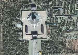 Temple of Heaven - Google Satellite Photo