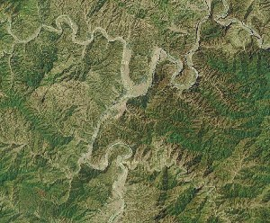 Yesanpo - Google Satellite Photo