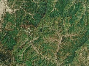 Zhangshiyan - Google Satellite Photo