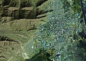 Tashilhunpo - Google Satellite Photo